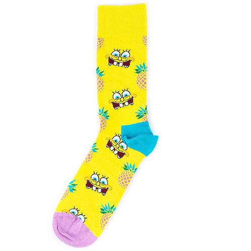 Happy Socks x SpongeBob - Fineapple Surprise