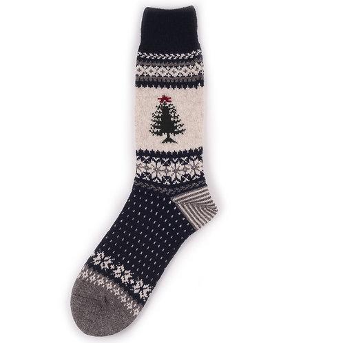 Chup Wool Santa - Navy