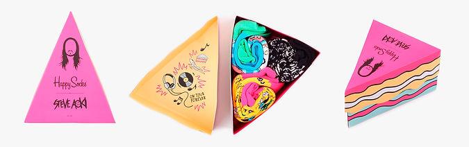 Носки Happy Socks x Steve Aoki