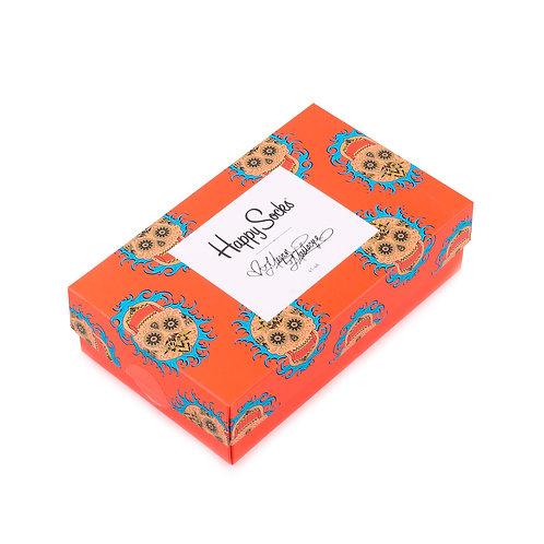 Happy Socks x Magen Massacre Набор из 3-x пар носков в подарочной коробке