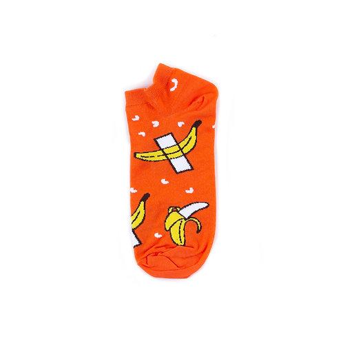 St.Friday Socks Ankle - Banana Art