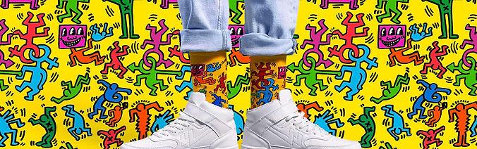 Happy Socks x Keit Haring Blog Post
