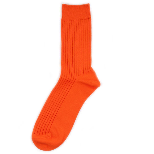 Yarn Works Socks - Work #0 - Solid - Orange