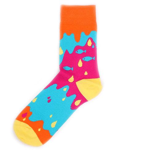 Lava Socks Iceland Series - Fish