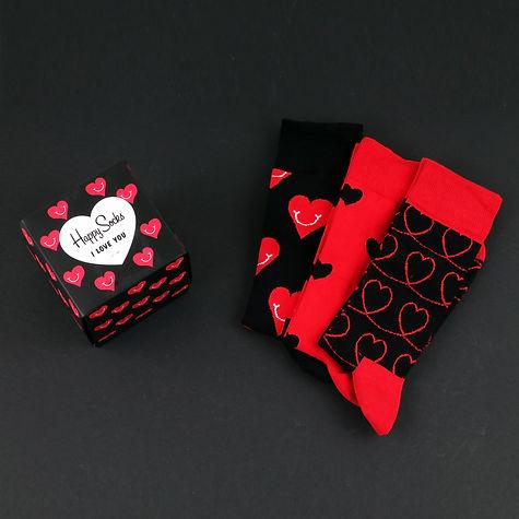 Носки для подарка к дню святого валентина