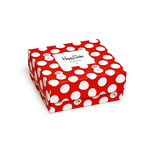 Happy Socks 2 Pair Christmas Gift Box