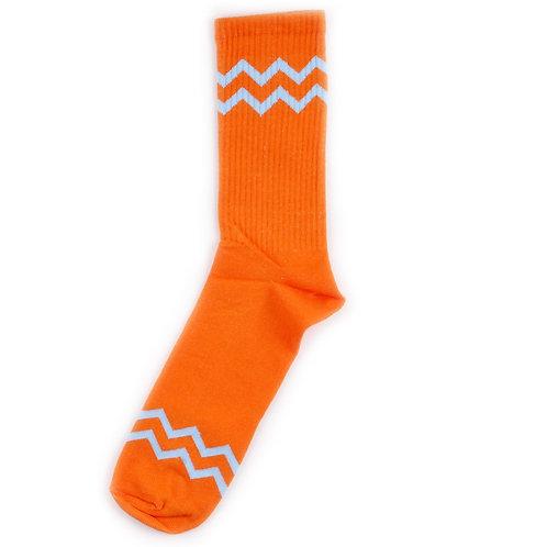 KF Original Socks - ZigZag - Orange