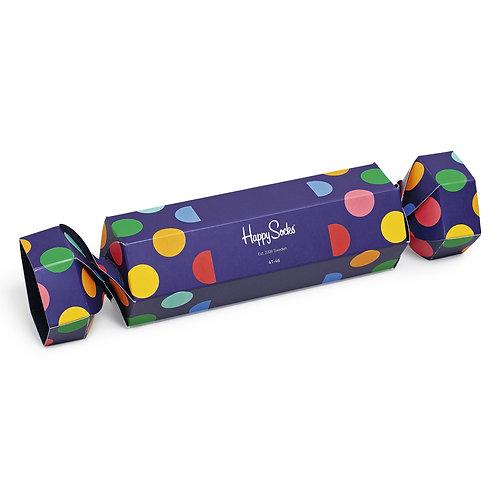 Happy Socks Набор из 2-x пар носков - Christmas Cracker Gift Box - Purple
