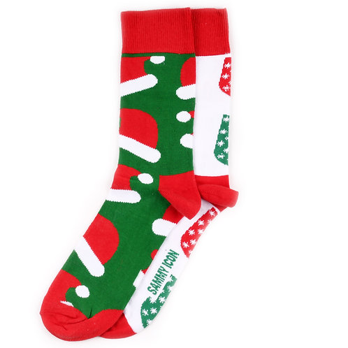 Sammy Icon Socks - Mismatched - Kringle