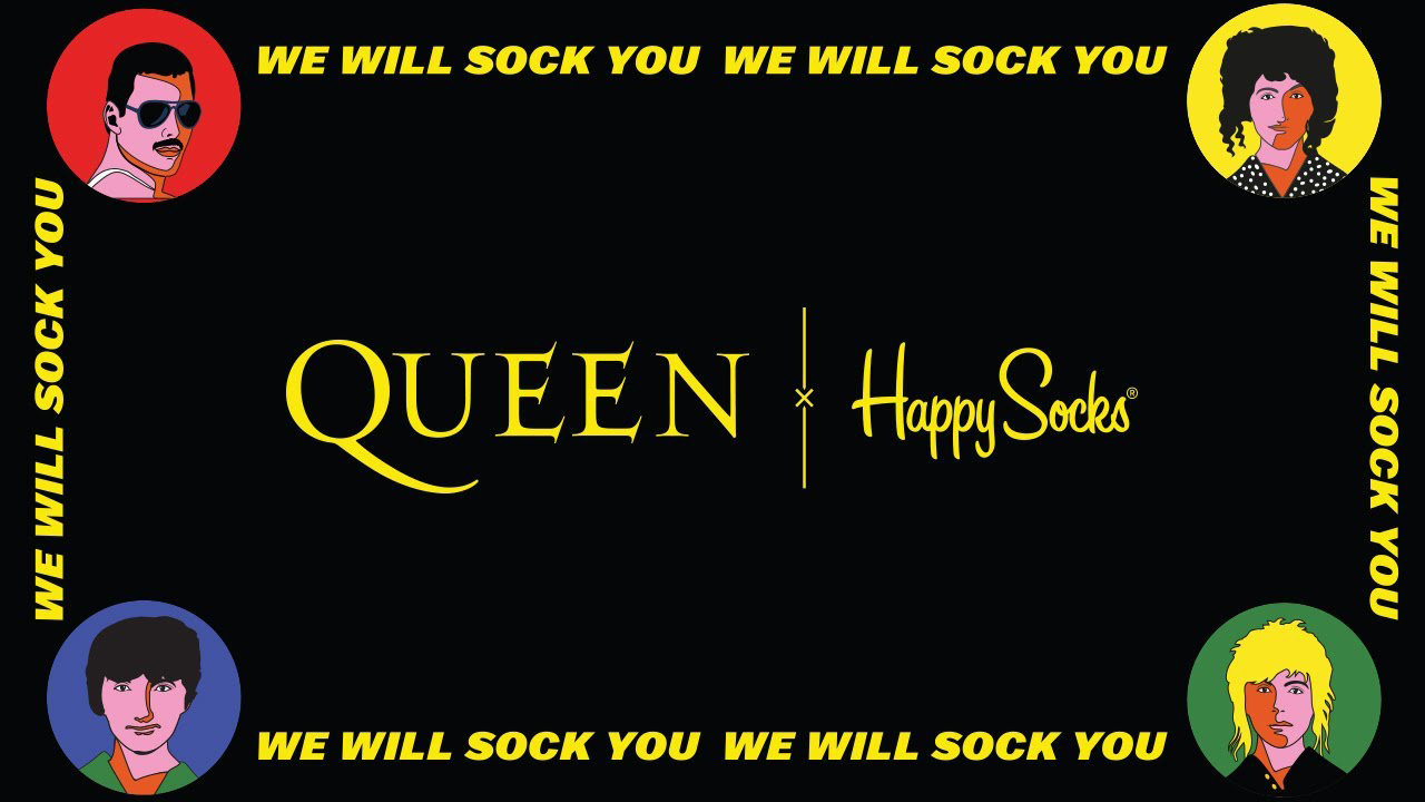 Носки Happy Socks x Queen