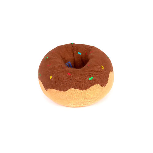 DOIY Doughnut Socks - Brown