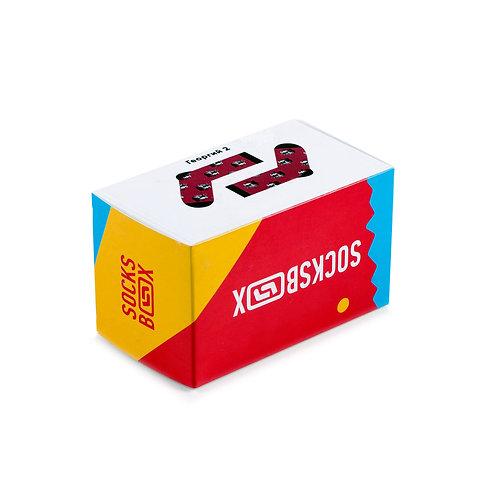 Socks Box - Георгий - Красный