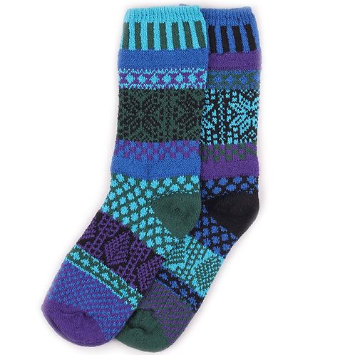 Solmate Socks - Blue Spruce