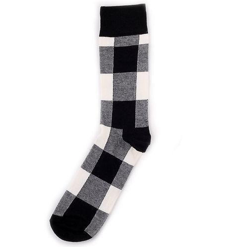 Happy Socks Lumberjack - Black