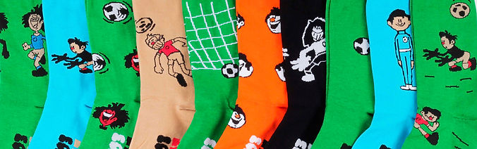 St.Friday Socks x Soyuzmultfilm socks and knee high collection