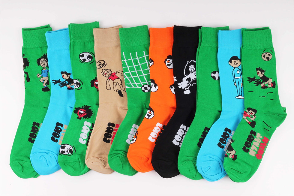 St.Friday Socks x Souzmultfilm 2018 FIFA World Cup Collection