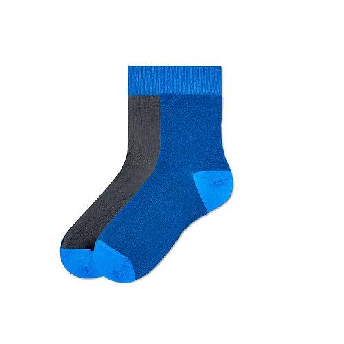 Hysteria Filippa Nylon Ankle - Blue/Black