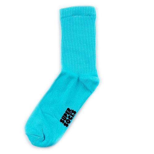 SUPER SOCKS Solid - Blue