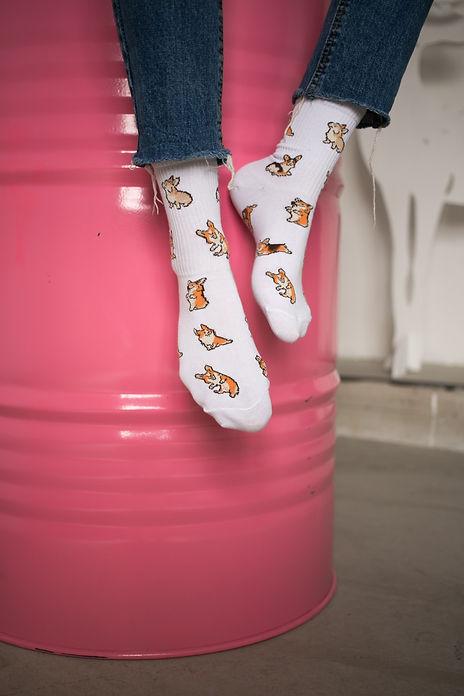 SUPER SOCKS носки с корги