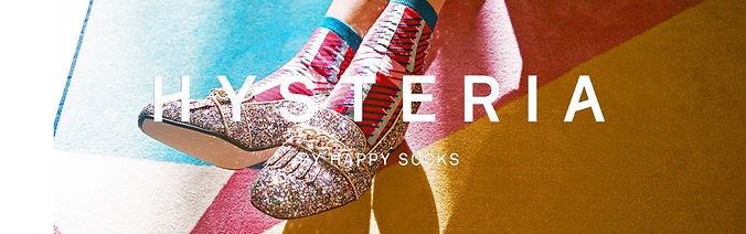 Модные носки для девушек Hysteria Socks