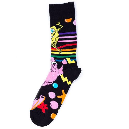Happy Socks x SpongeBob - Bubble In Paradise
