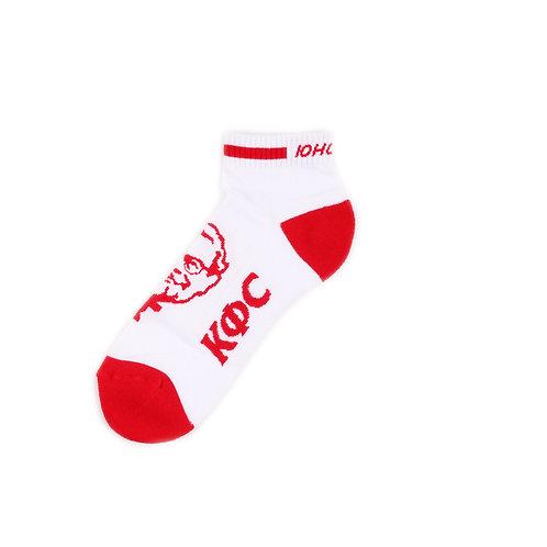 Yunost x KFC Socks - Ankle - Polkovnik