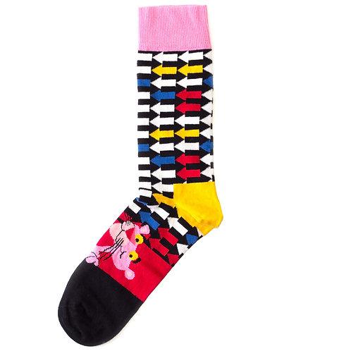 Happy Socks x Pink Panther - Jet