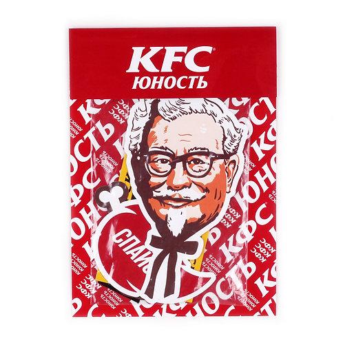 Yunost x KFC Sticker pack