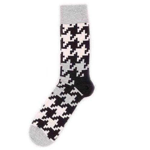 Happy Socks Dogtooth - Black