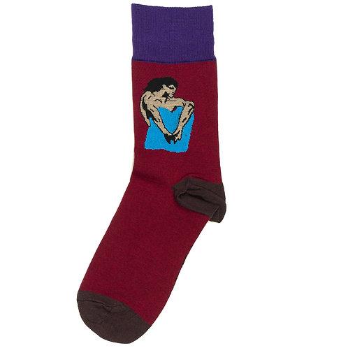 St.Friday Socks x Третьяковская Галерея - Демон сидящий