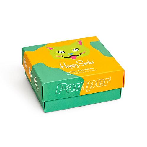 Happy Socks Набор из 2-х пар носков - 2-Pack Cat Lover Gift Set