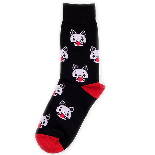 St.Friday Socks - Silence of the Pigs