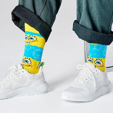 Happy-Socks-x-SpongeBob-Say-Cheese-Burge