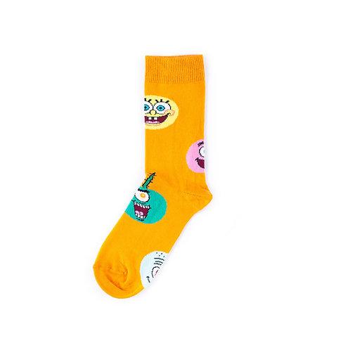 Happy Socks x SpongeBob Kids Socks