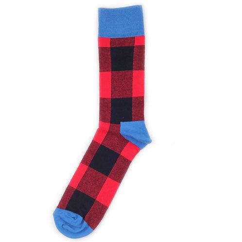 Happy Socks Lumberjack - Red