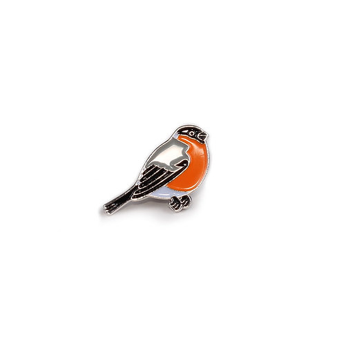 Circle Of Unity Pin Badge «Bullfinch»