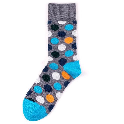 Happy Socks Wool - Big Dot - Multicolor