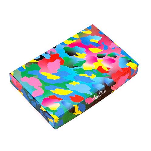 Happy Socks Набор из 4-х пар носков - Camo Argyle
