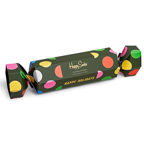 Happy Socks 2-Pack Classic Holiday Socks Gift Set - Green