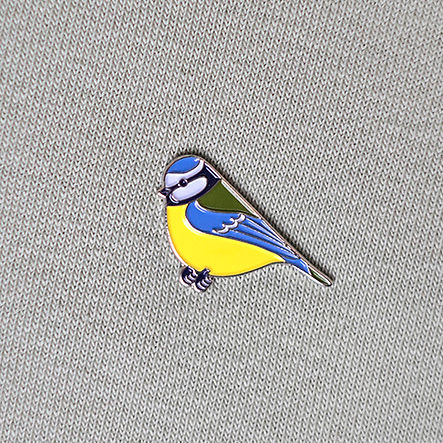 Circle Of Unity Bird Metal Enamel Pin Badges