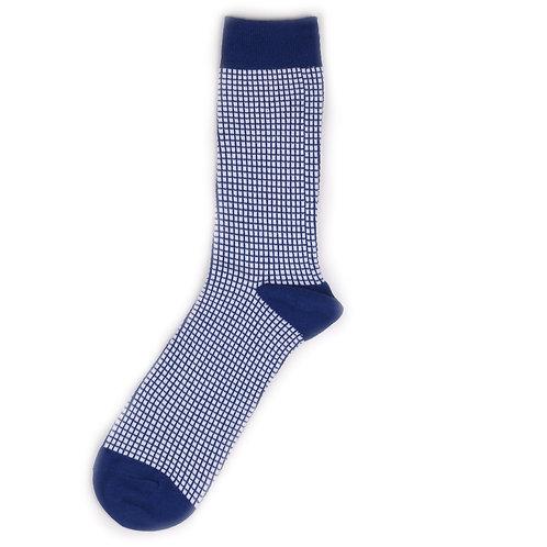 Yarn Works Socks - Work #1 - Blue
