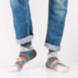 Chup Permian Grey Socks at Sock Club Moscow