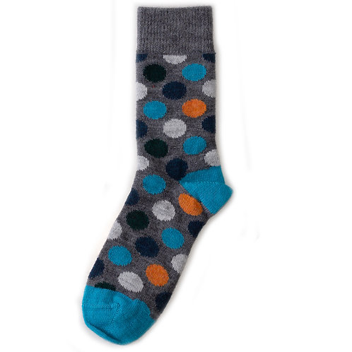 Happy Socks Wool - Big Dot - Multicolor