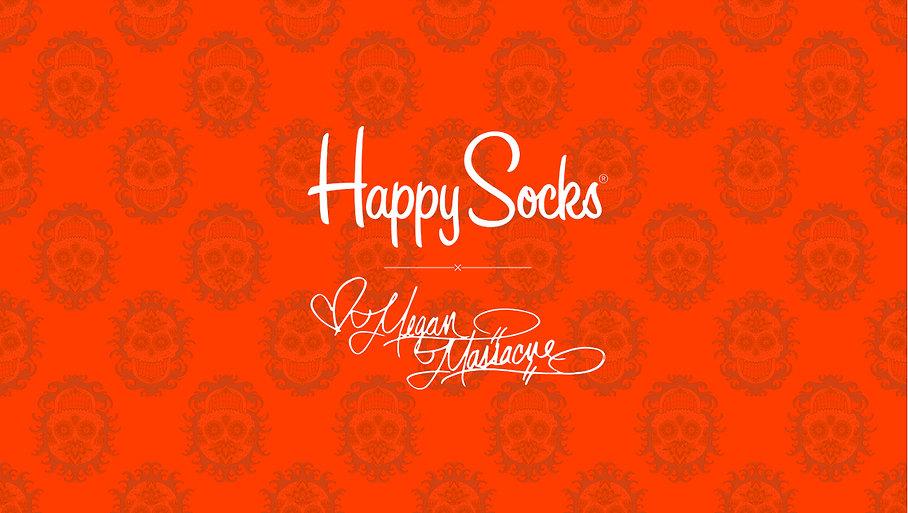 Happy Socks x Megan Massacre