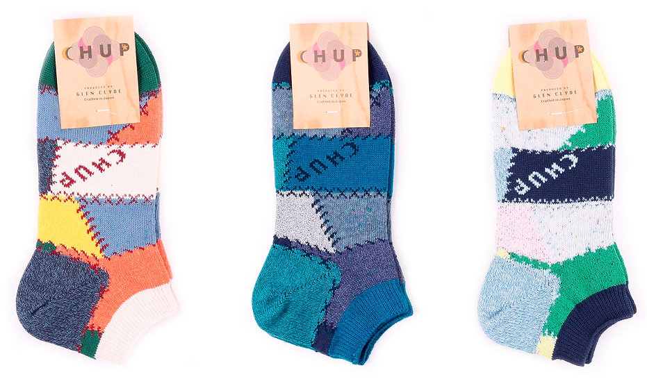 Chup Quilting Bee Socks at Sock Club Moscow