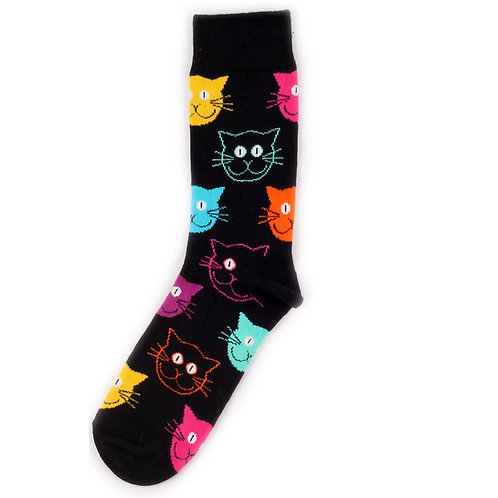 Happy Socks Cat - Multicolor