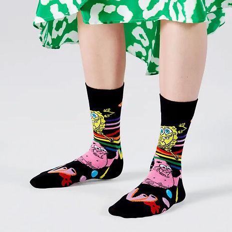 Happy-Socks-x-SpongeBob-Bubble-In-Paradi