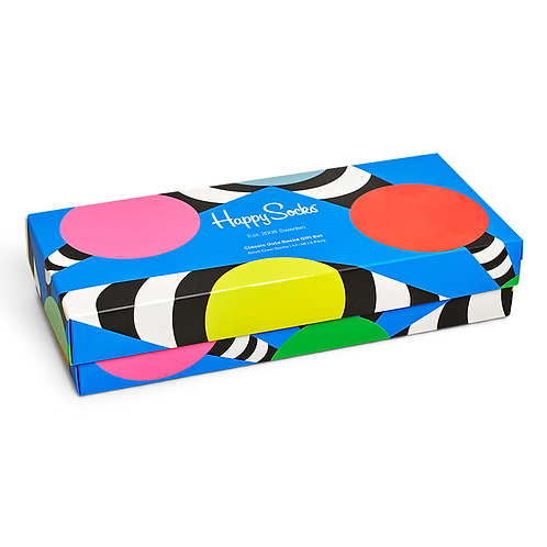 Happy Socks 4-Pack Classic Dots Socks Gift Set