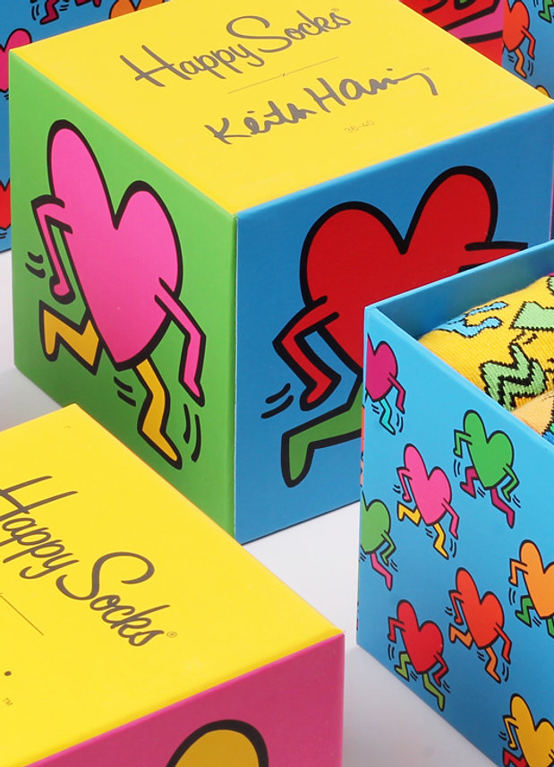 Happy Socks x Keith Haring Sock Collection