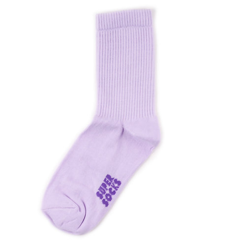SUPER SOCKS Solid - Purple